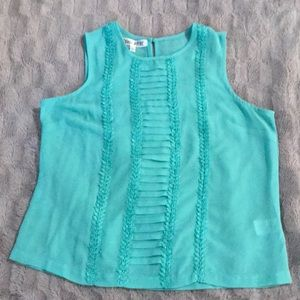💥BOGO! Patrons of Peace Teal Blouse